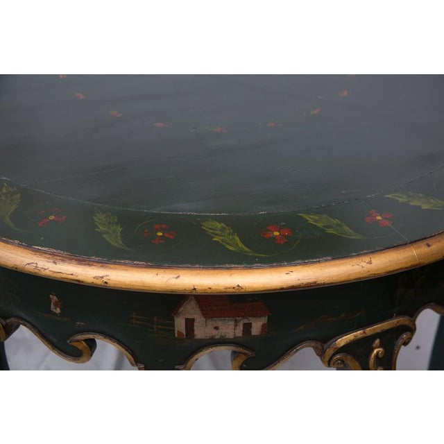 19th Century Northern Italian Painted Center Table - Image 4 of 11