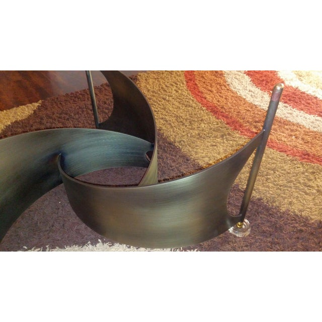 Mid-Century Propeller Base Coffee Table - Image 7 of 9