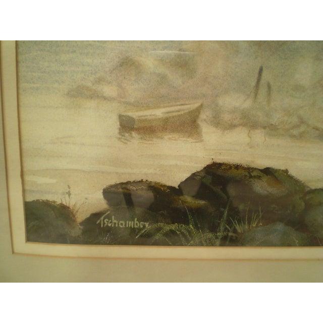 Annisquam Lighthouse Cape Ann Watercolor - Image 5 of 6
