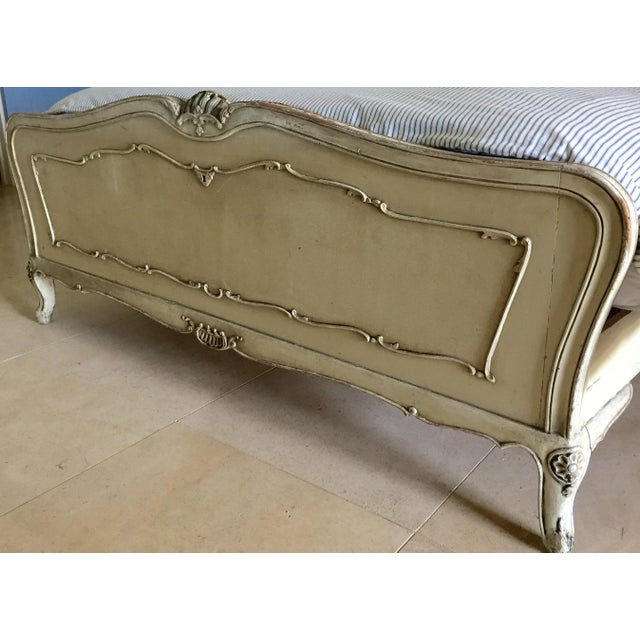 Vintage French Style Queen Bed Frame - Image 5 of 8
