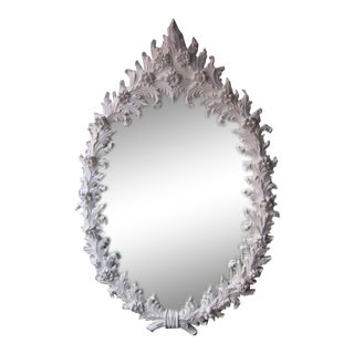 Large Polyester Plaster Mirror After Marc Bankowsky