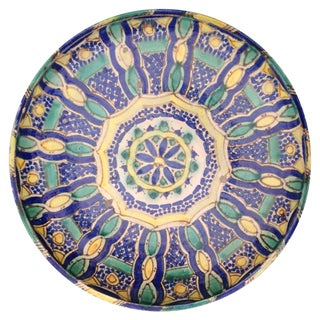 Hand Painted Moroccan Platter