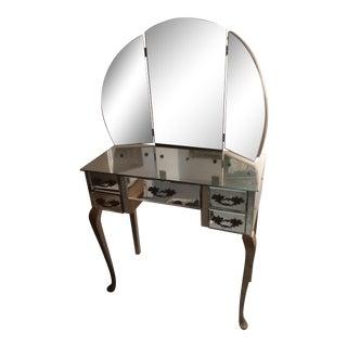 Vintage Mirrored Vanity