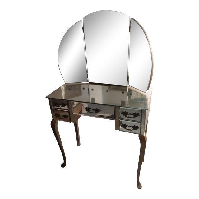 Vintage Mirrored Vanity 115