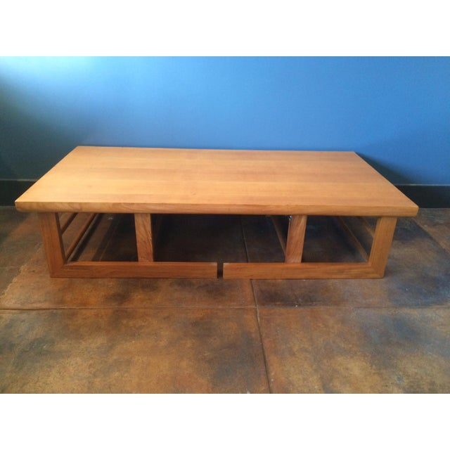 Image of Mid-Century Camel Conversion Dining Table
