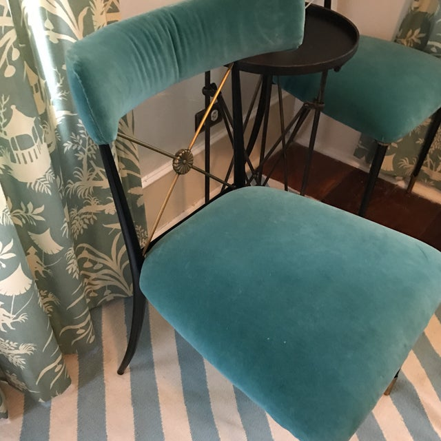 Jonathan Adler Rider Dining Chairs - A Pair - Image 3 of 7