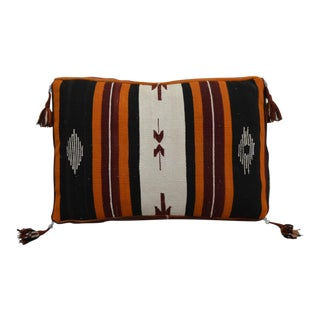 Turkish Hand Woven Kilim Rug Floor Cushion Cover - 21″ X 32″