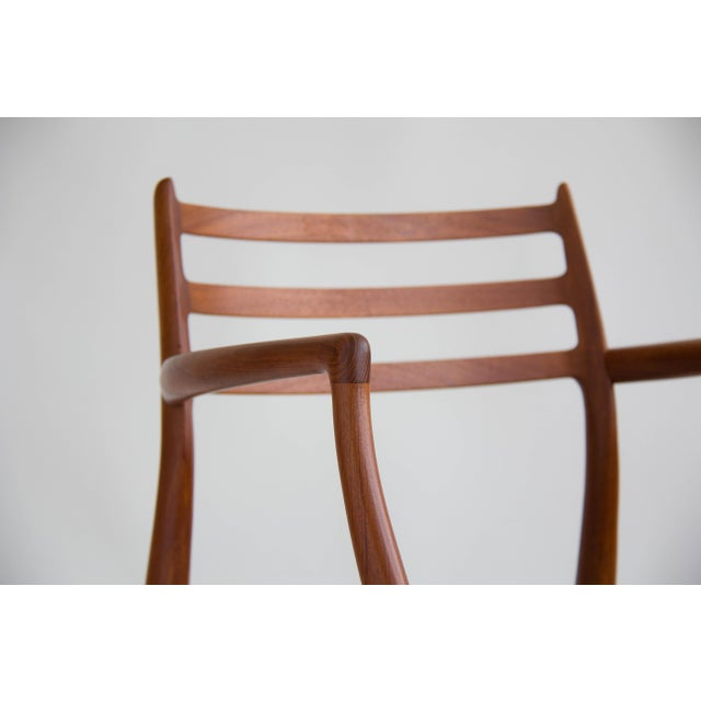 Niels Møller #78 Dining Chairs - Set of 6 - Image 6 of 11