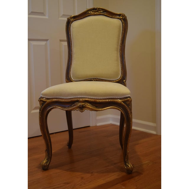 Hand Carved Italian Wood Chair - Image 3 of 9