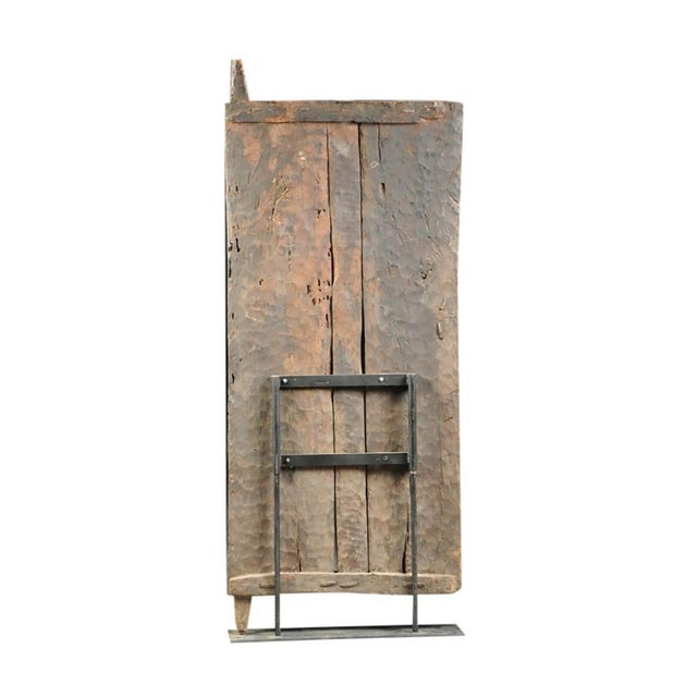 Monumental Hardwood African Granary Door - Image 9 of 9