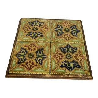 Vintage European Tiles Trivet