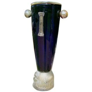 A Massive Art Vase by Mitchell Gaudet (signed)