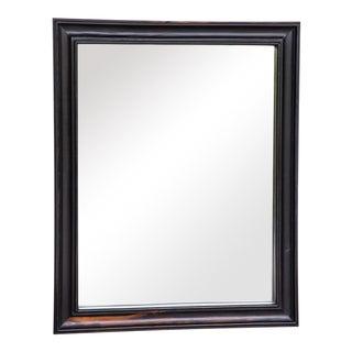Dutch Colonial Ebony Framed Wall Mirror