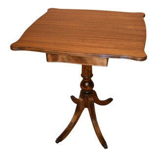 Antique Mahogany Game or Card Table
