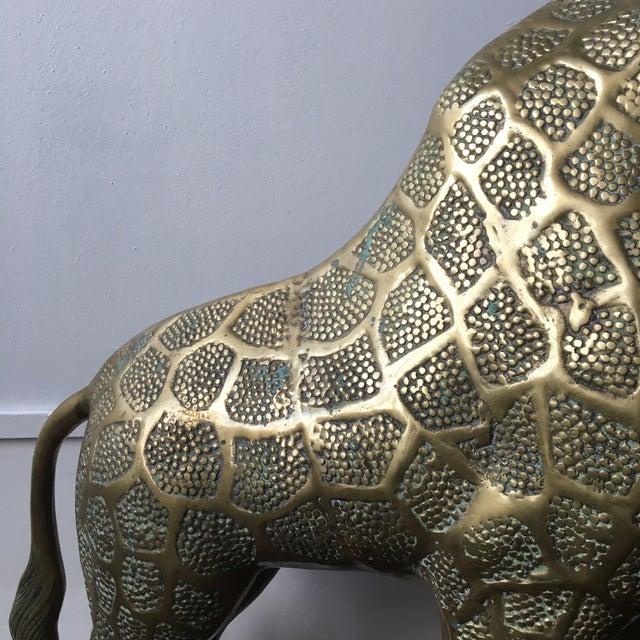 Lifesize Brass Giraffe - Image 5 of 8