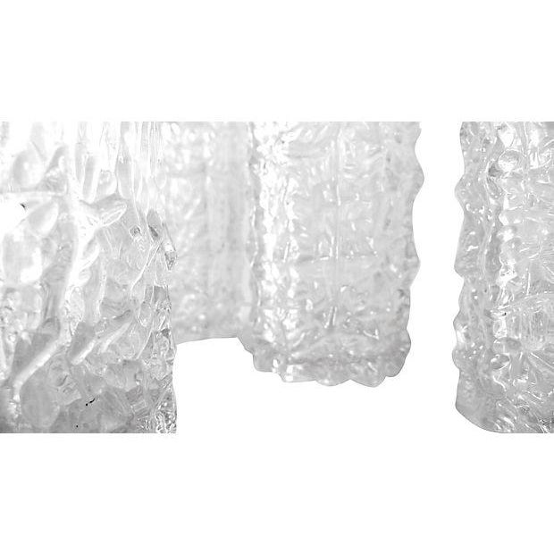 Lucite Icicle Glasses - Set of 8 - Image 3 of 5