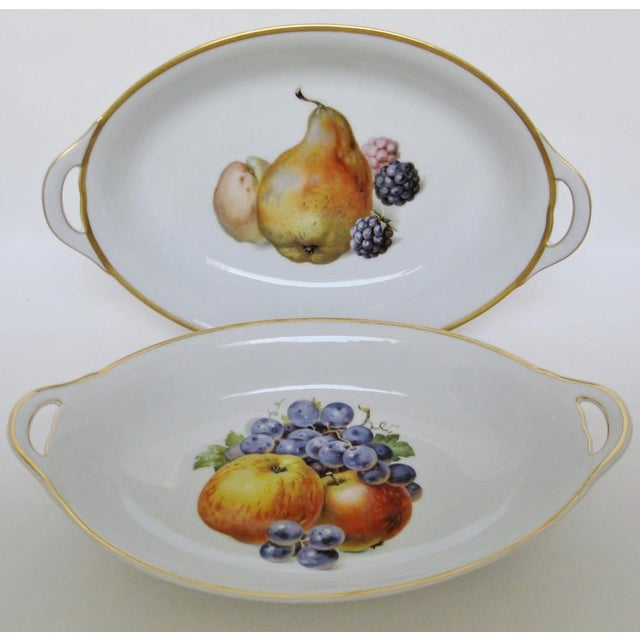 Vintage Bavarian Serving Bowls - a Pair - Image 2 of 8