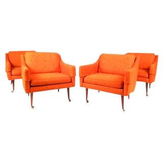 Mid-Century Modern Milo Baughman Armchairs - Set of 4