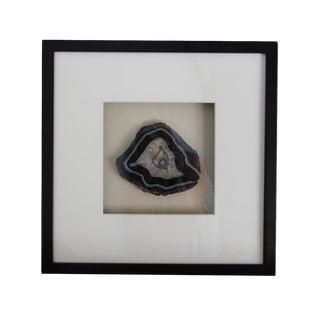 Framed Black Agate Slice