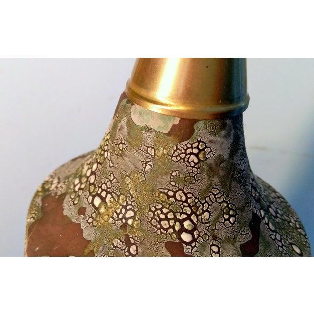 Image of Mid-Century Space Camo Ceramic Table Lamp
