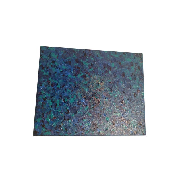 Image of 'Sea of Blue' Contemporary Painting