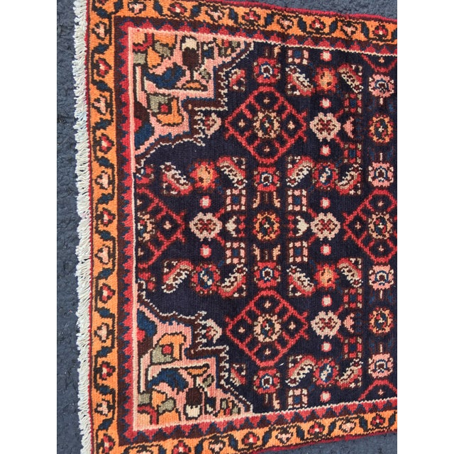 "Vintage Persian Malayer Runner - 2'4"" x 14'4"" - Image 3 of 10"