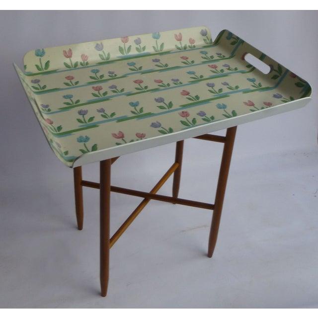 Image of Mid-Century Swedish Tray Table