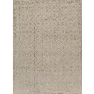 Pasargad Khotan Silk & Wool Area Rug- 10′2″ × 14′2″