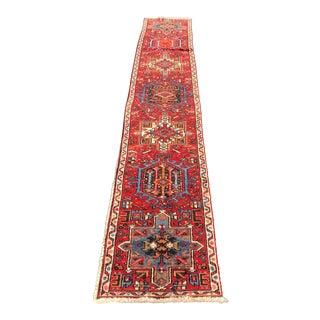 """Red Persian Karajeh Runner Rug - 1'8"""" x 10'2"""""""