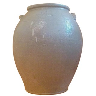 Early 19th-C. Wheeling Pottery Urn