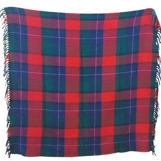 Vintage Tartan Plaid Stadium Blanket