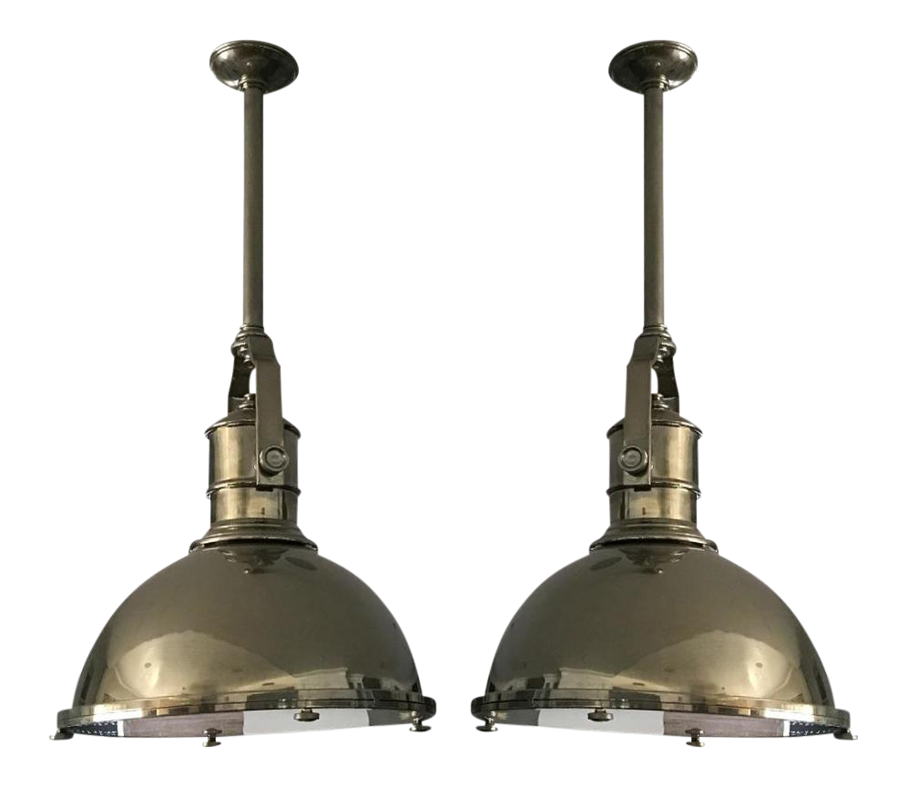 visual comfort pendant lights a pair
