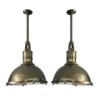 Visual Comfort Pendant Lights - A Pair