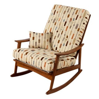 Restored Mid-Century Modern Rocking Chair
