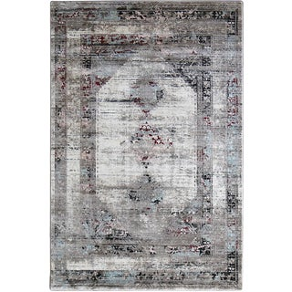 Troy Distressed Persian Rug - 5 x 7'7""