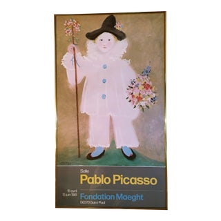 Picasso Exhibition Poster Foundation Maeght