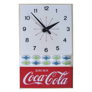 1960s Vintage Coca Cola Lighted Clock