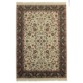 RugsinDallas Hand Knotted Wool Rug - 6' X 8'7""