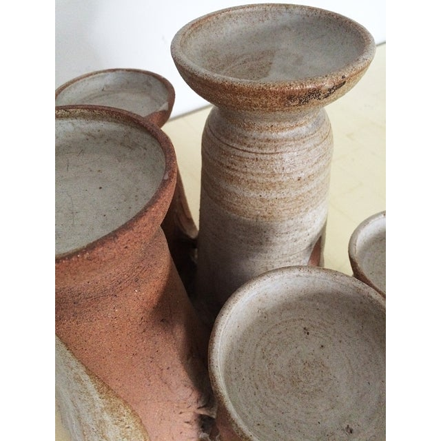 Mid-Century Studio Pottery Candle Holder - Image 7 of 10