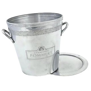Pommery Double Bottle Champagne Bucket with Tray
