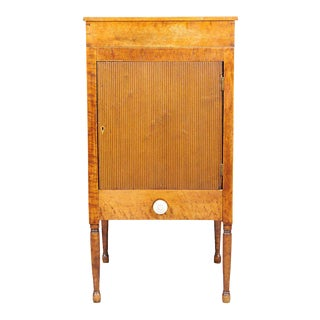 American Bird's-Eye Maple Cabinet