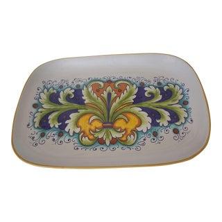 Nova Deruta Raffaellesco Platter/Tray