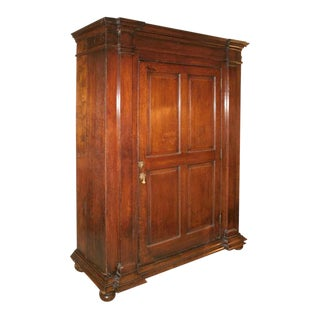 English Oak Cabinet late XVIII century