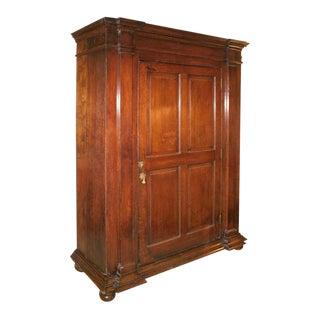 English Oak Cabinet late XVIII century