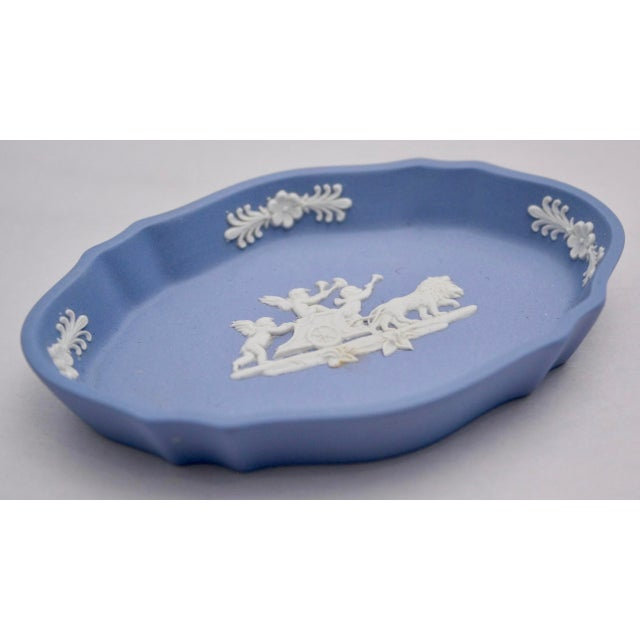 Image of English Wedgewood Oval Display Dish