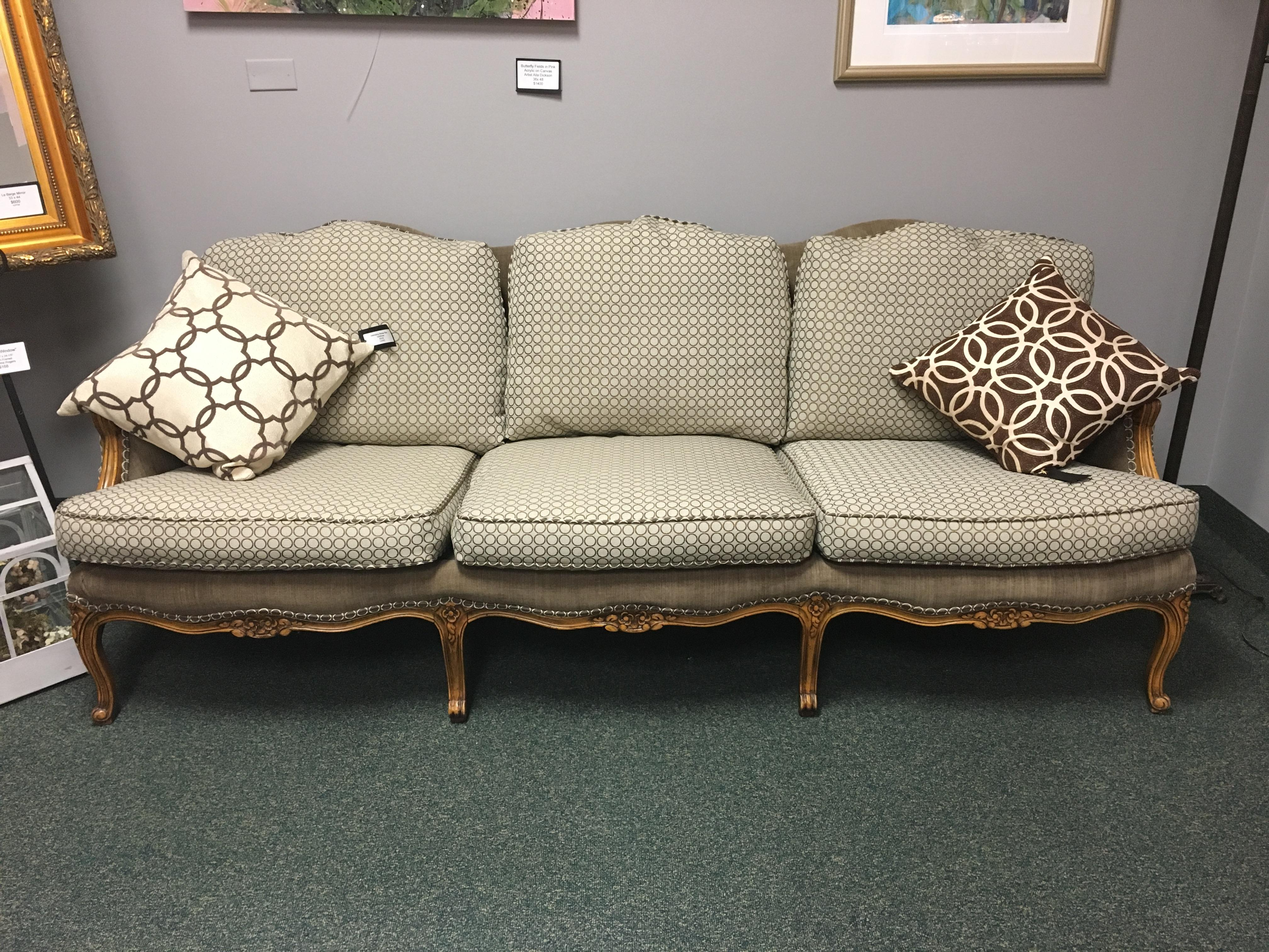 Baker Furniture French Country Sofa   Image 6 Of 10