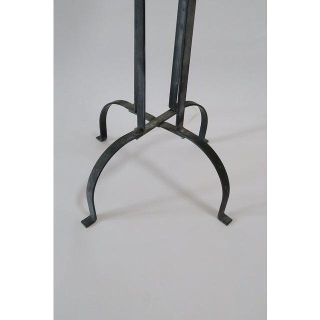 Vintage Wood & Metal Plant Stand - Image 6 of 6