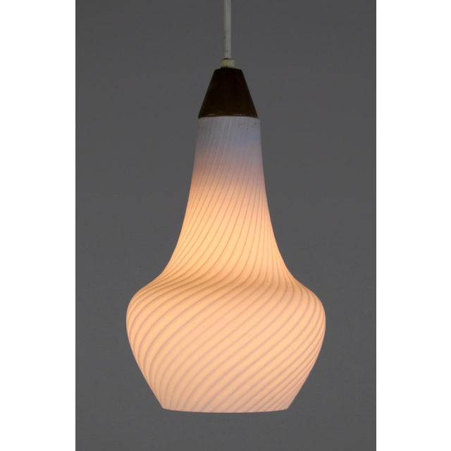 A Pair of Mid Century Pendant Lights - Image 8 of 8