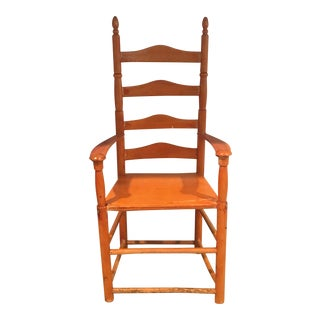 Miniature Ladder Back Doll Chair