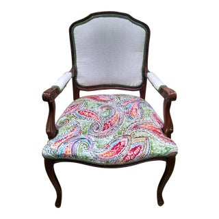 Vintage Louis XV Style Arm Chair